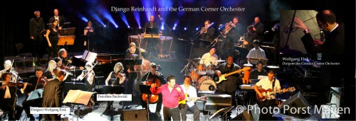 Django Reinhardt Jazz Musiker